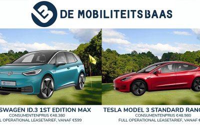 Volkswagen ID.3 of Tesla Model 3?